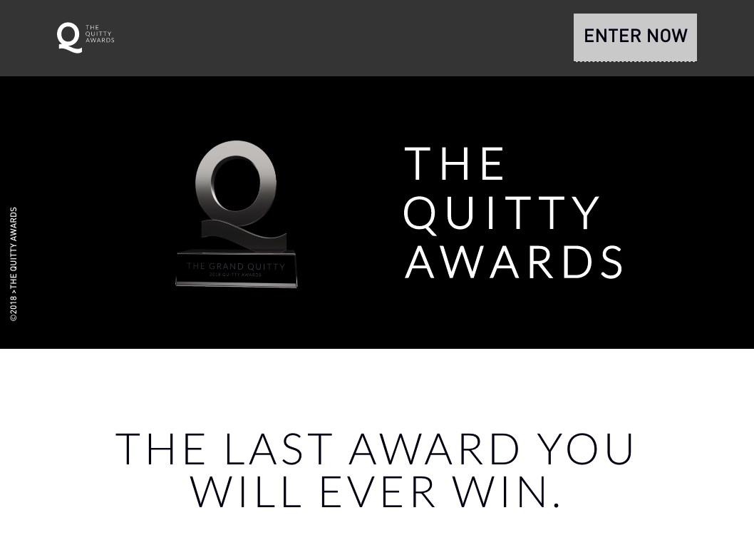 The Quitty awards